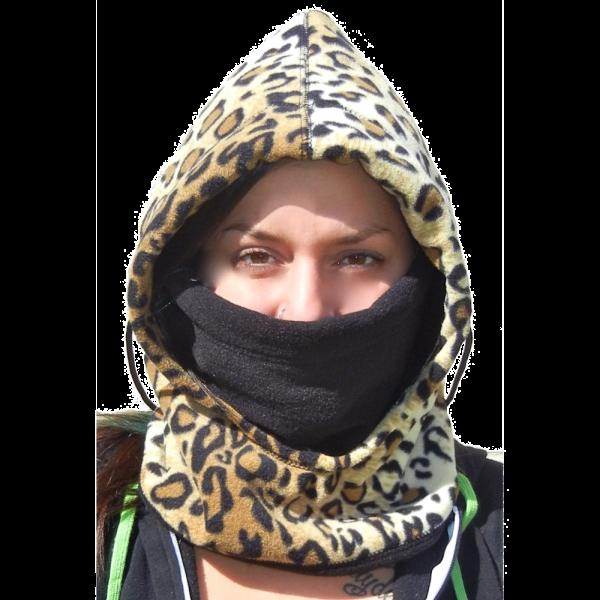 Best Winter Hat   leopard / Black