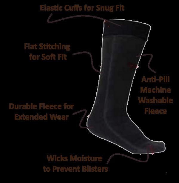 Super Cozy Fleece Socks